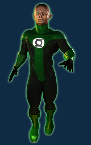 Green Lantern John Stewart - See him on my reel!